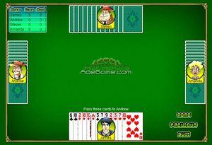 черви игра карты играть онлайн